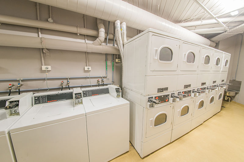 Empire Student Accommodation : Laundry Room.